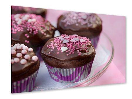 Acrylglasbild Muffins