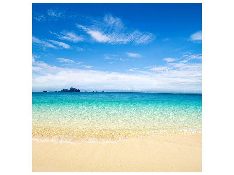 Acrylglasbild Blaue Lagune