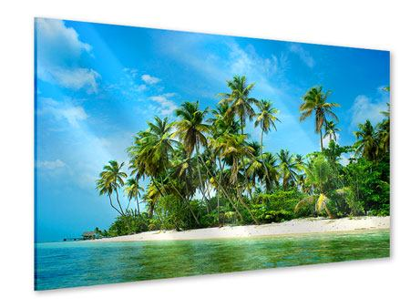 Acrylglasbild Reif für die Ferieninsel
