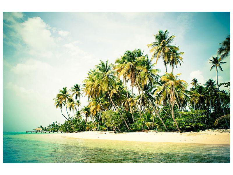 Acrylglasbild Tobago Cays