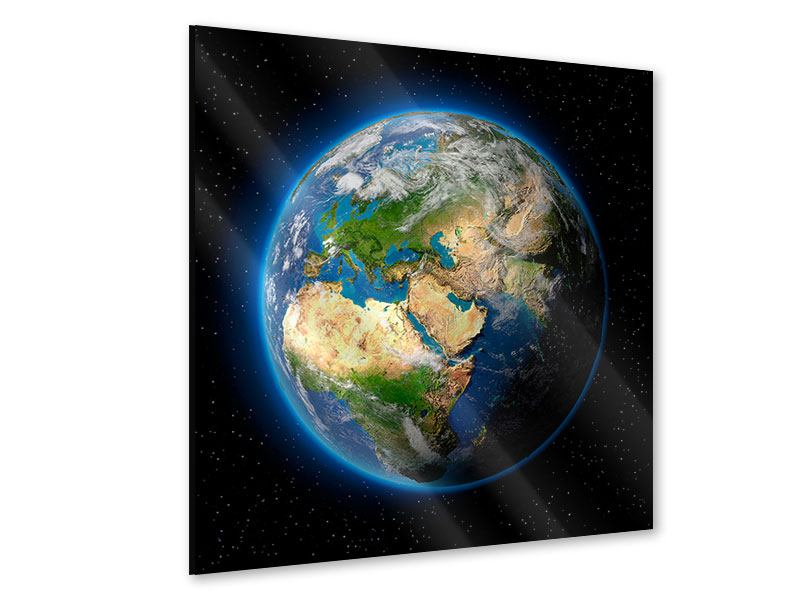 Acrylglasbild Die Erde als Planet