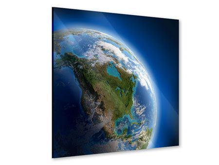 Acrylglasbild Die Erde