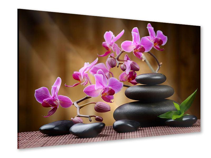 Acrylglasbild Wellness-Steine