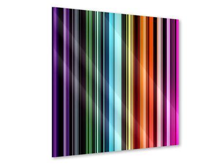 Acrylglasbild Bunte Streifen