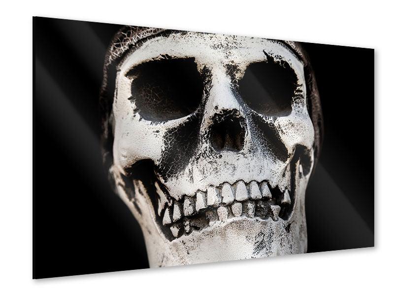 Acrylglasbild Skull