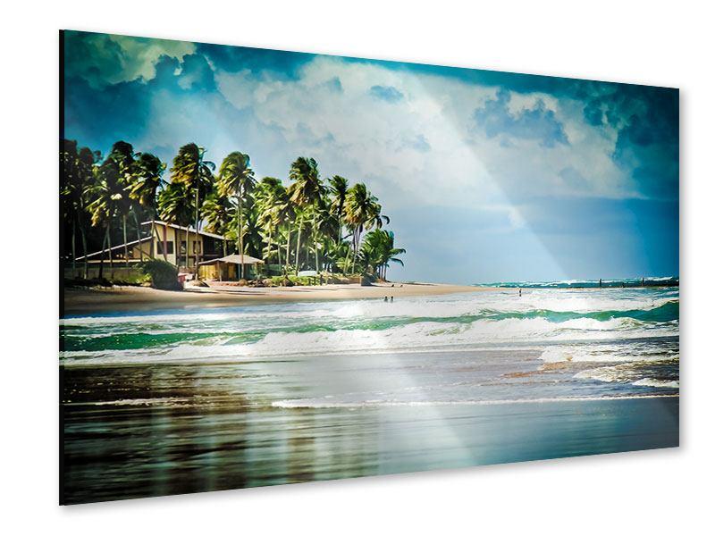 Acrylglasbild The Beach