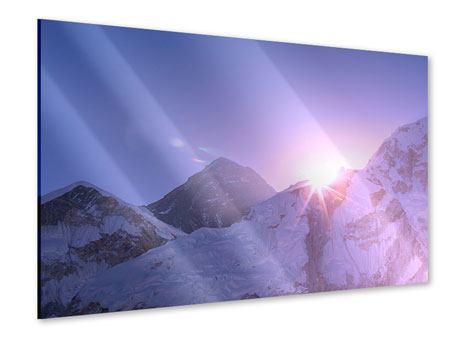 Acrylglasbild Sonnenaufgang beim Mount Everest