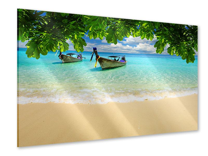 Acrylglasbild Ein Blick auf das Meer