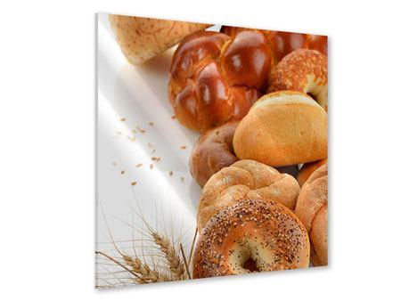 Acrylglasbild Frühstücksbrötchen