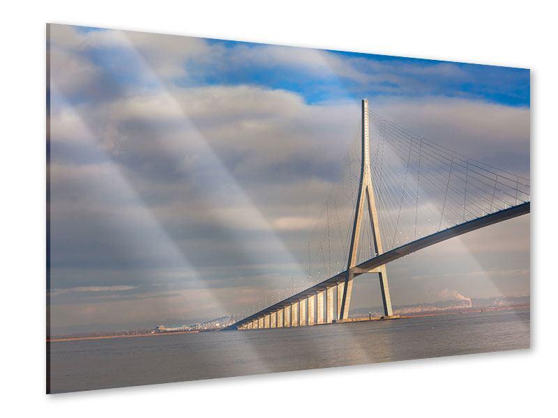 Acrylglasbild Pont de Normandie