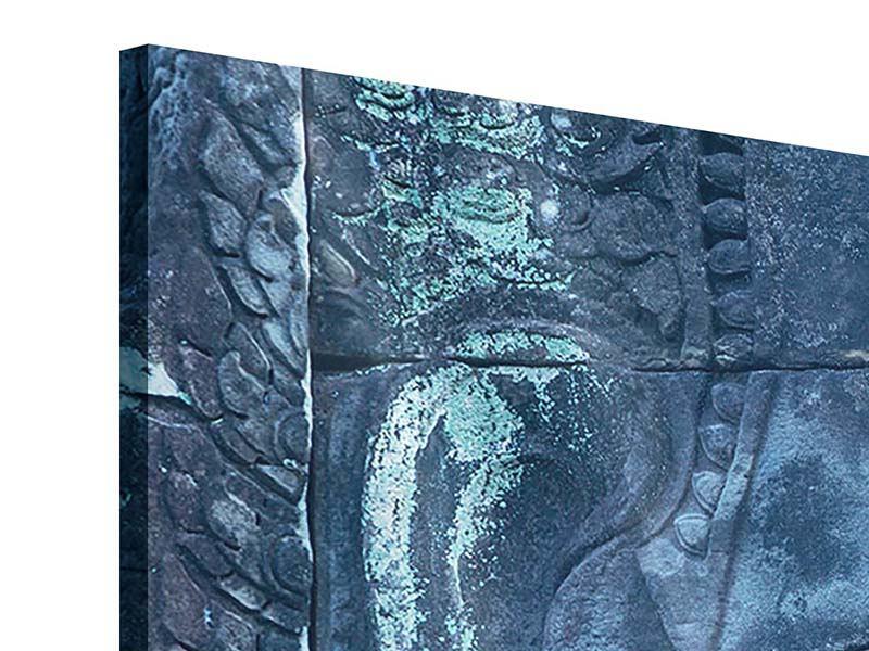 Acrylglasbild Buddha Statur