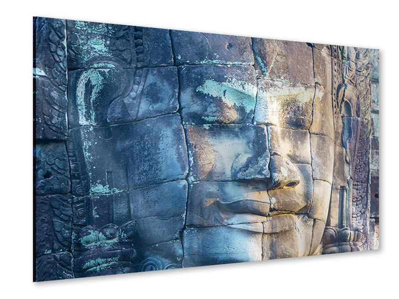 Acrylic Print Buddha in Rock