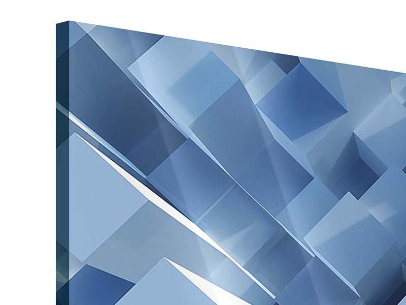 Acrylglasbild 3D-Säulen