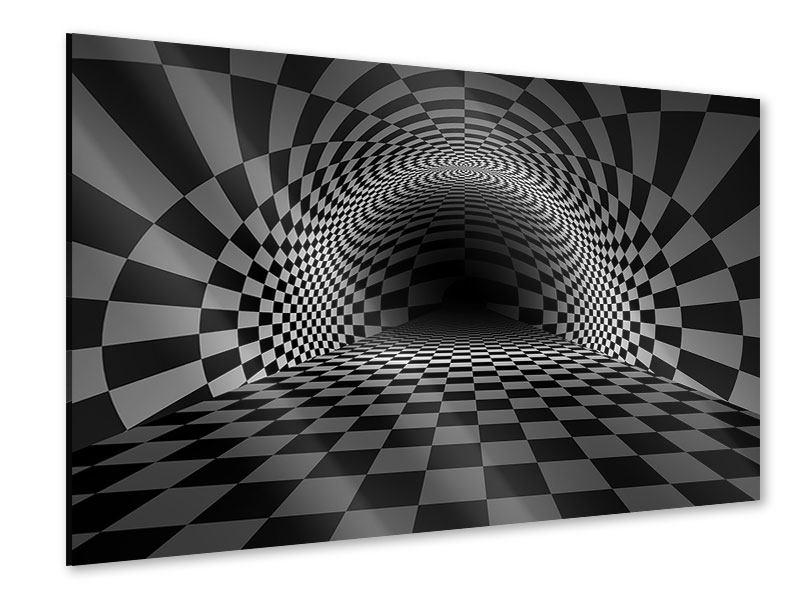 Acrylglasbild Abstraktes Schachbrett
