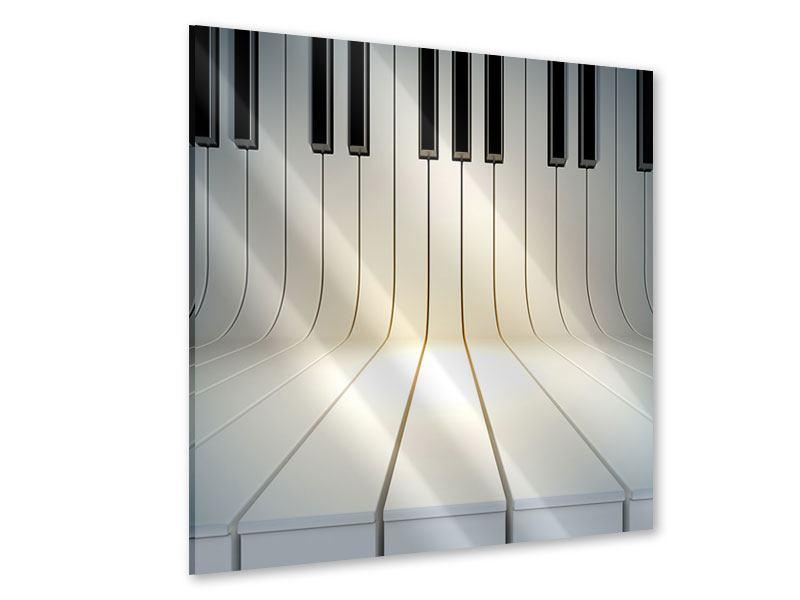 Acrylglasbild Klaviertasten