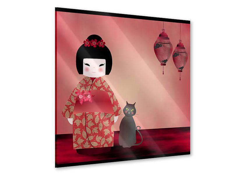 Acrylglasbild Chinese Girl