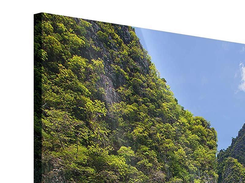 Acrylglasbild Das Kliff und das Meer