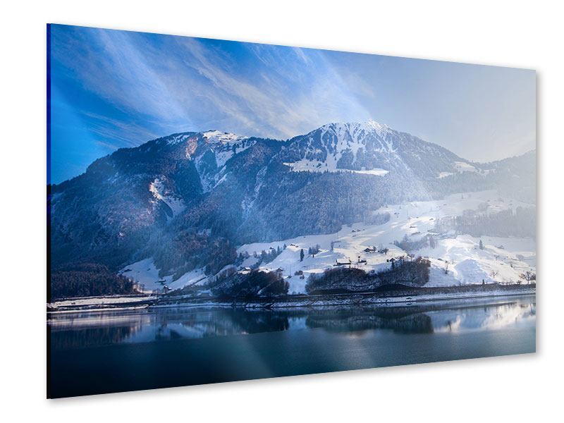 Acrylglasbild Winterwunderland