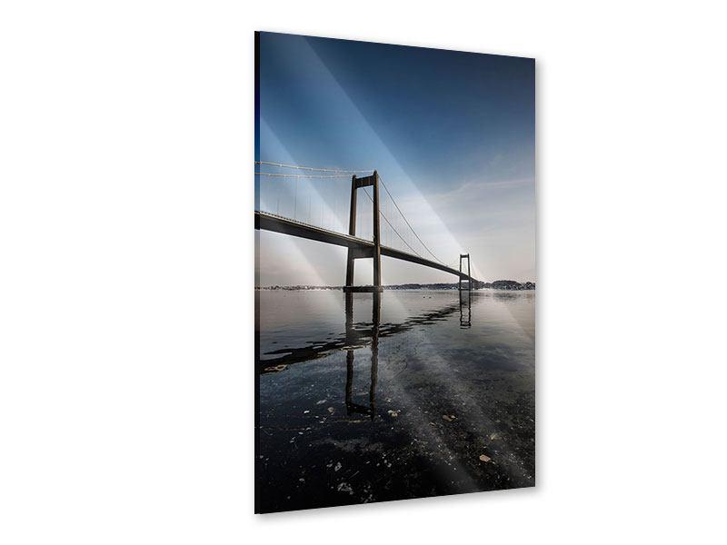Acrylglasbild Moderne Brücke