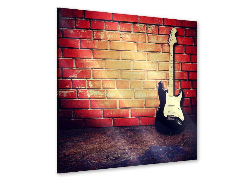 Acrylglasbild E-Gitarre