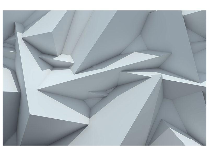 Acrylglasbild 3D-Kristallo
