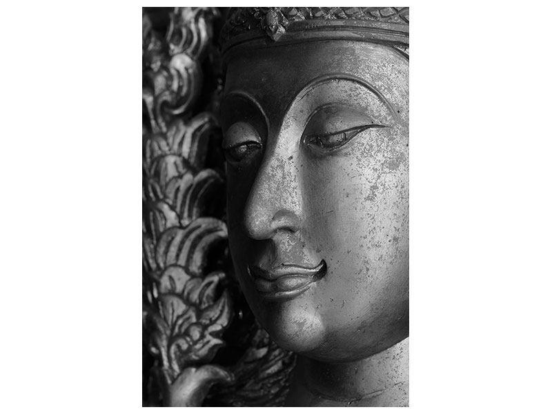 Acrylglasbild Buddha Close Up