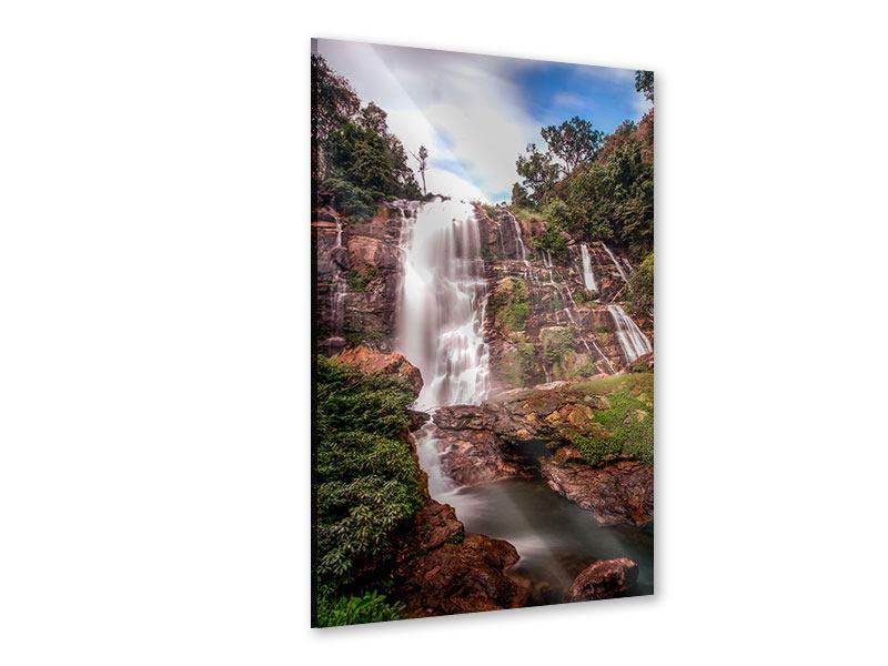 Acrylglasbild Wasserfall in Thailand