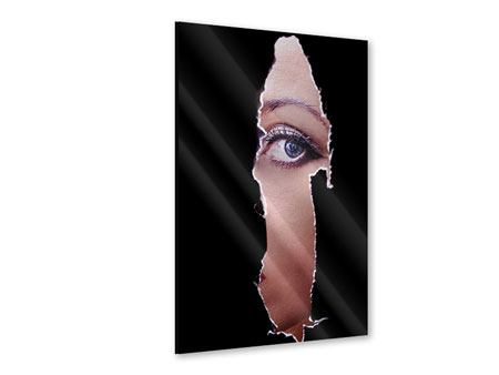 Acrylglasbild Guckloch