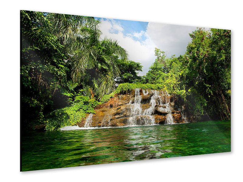 Acrylglasbild Lagune