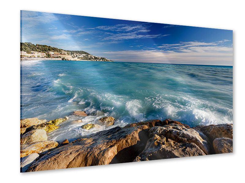 Acrylglasbild Cote D`Azur
