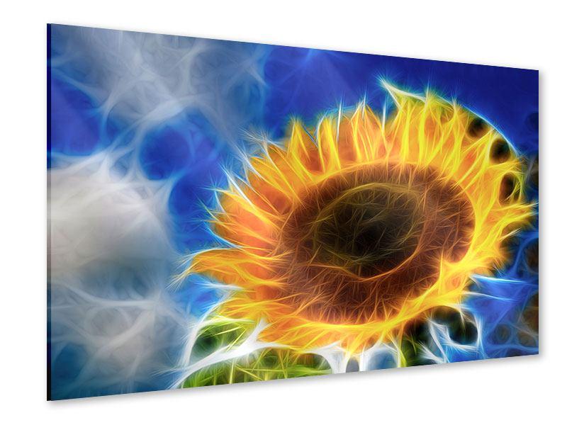 Acrylglasbild Der Sonne entgegen
