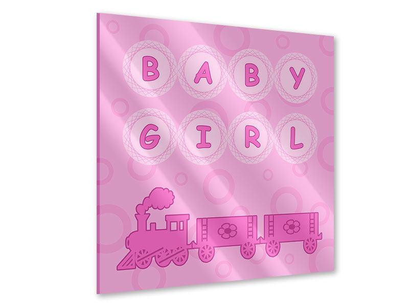 Acrylglasbild Baby-Girl