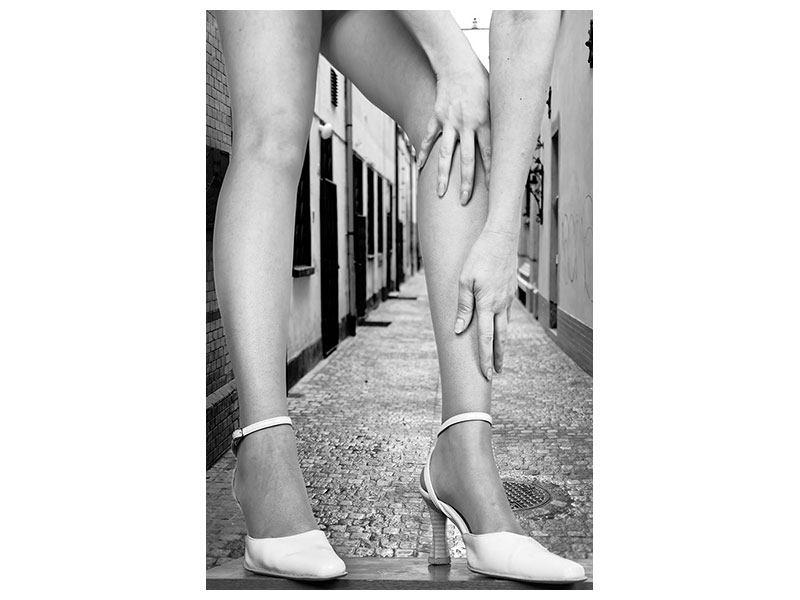 Acrylglasbild Legs