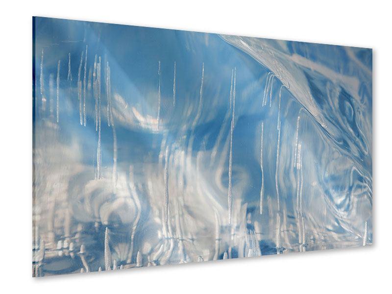 Acrylglasbild Das Eis des Baikalsees