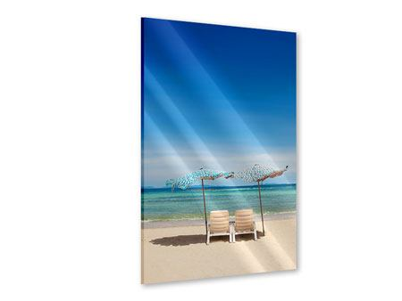 Acrylglasbild Ein Sonnenbad