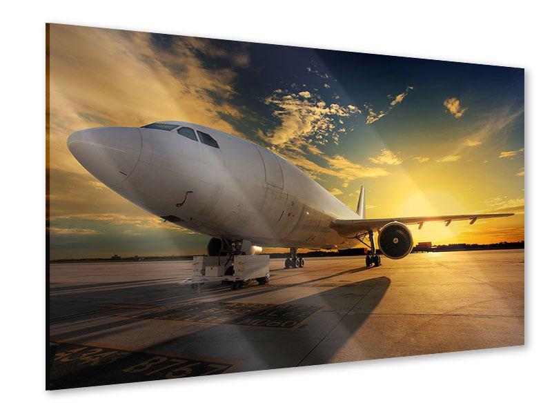 Acrylglasbild Jet