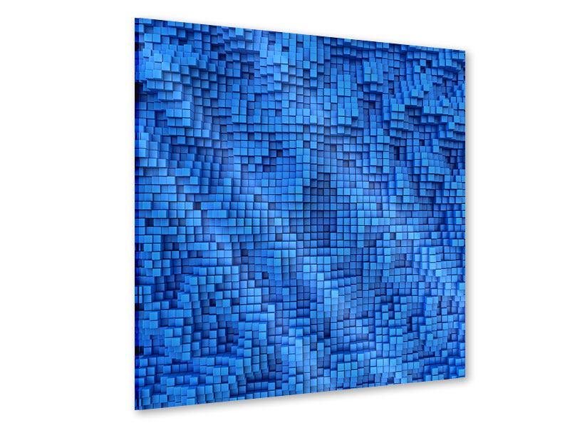 Acrylglasbild 3D-Mosaik