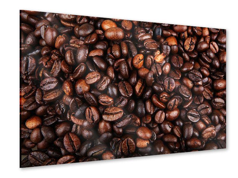 Acrylglasbild Kaffeebohnen in XXL