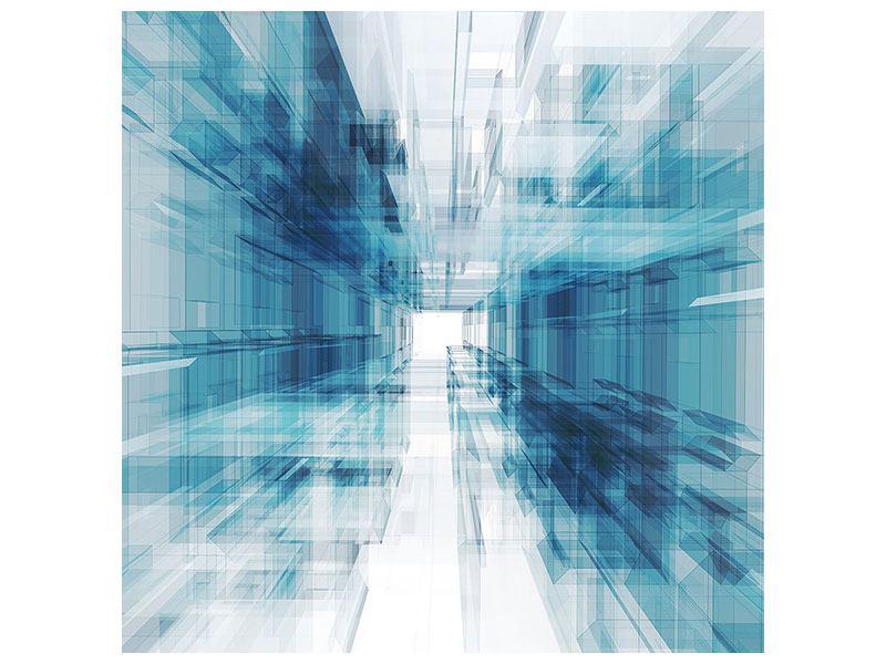 Acrylglasbild Abstrakte Raumerweiterung