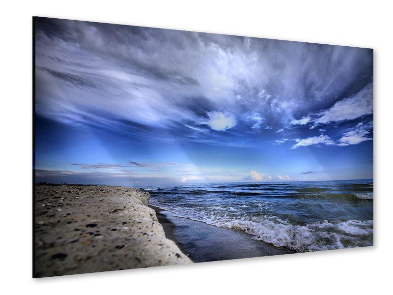 Acrylglasbild Strandwellen