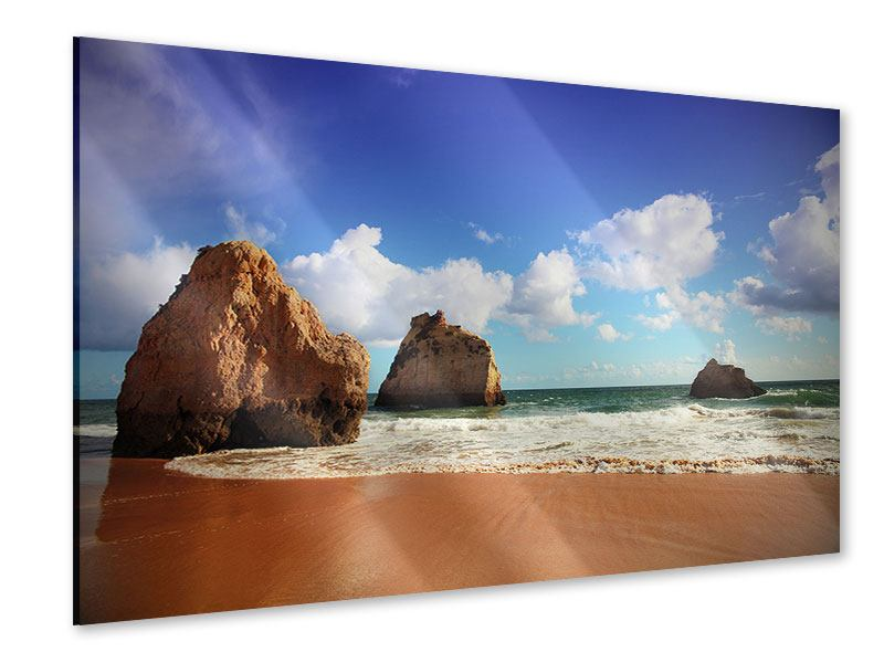 Acrylglasbild Strandgedanken