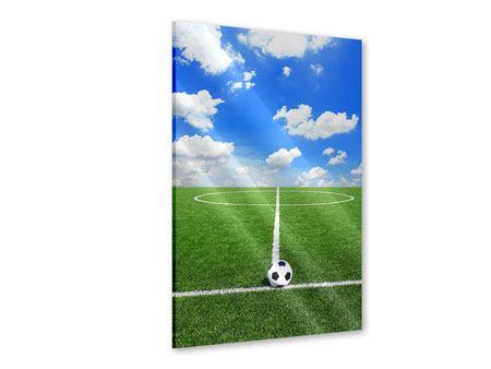 Acrylglasbild Fussballfeld