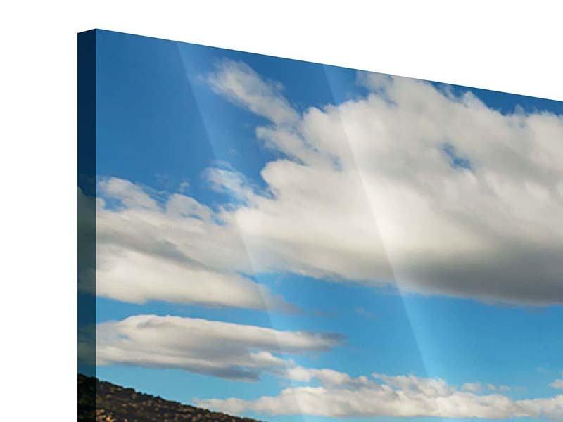 Acrylglasbild Wasserspiegelung am See