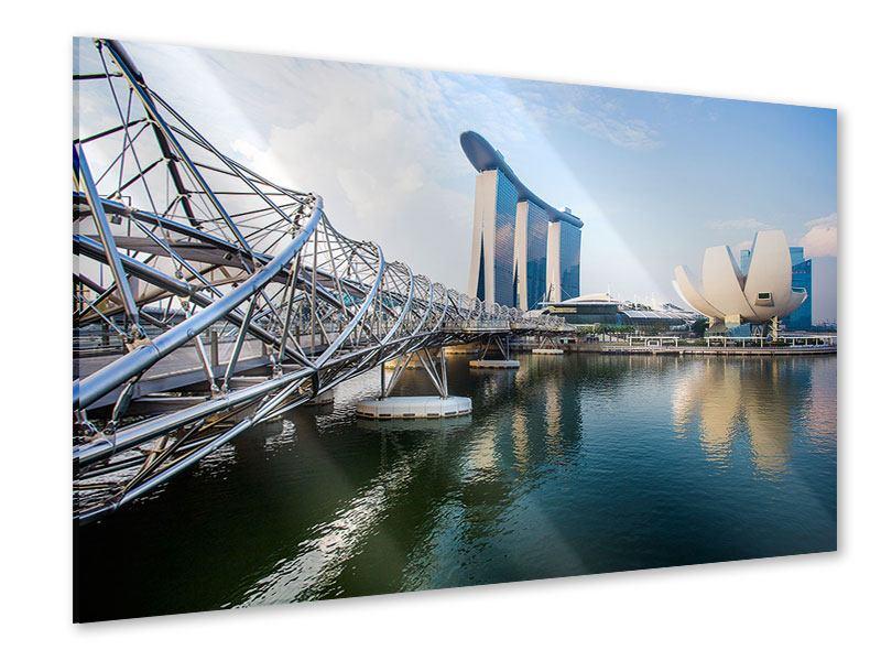 Acrylglasbild Singapur