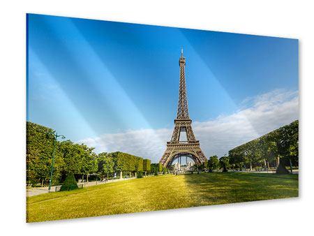Acrylglasbild Der Eiffelturm in Paris