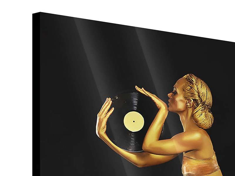 Acrylglasbild DJ Schönheit