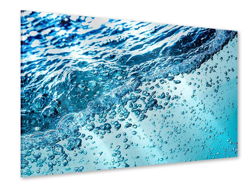 Acrylglasbild Wasser in Bewegung