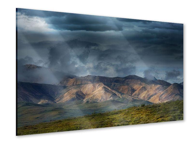 Acrylglasbild Silberstreifen