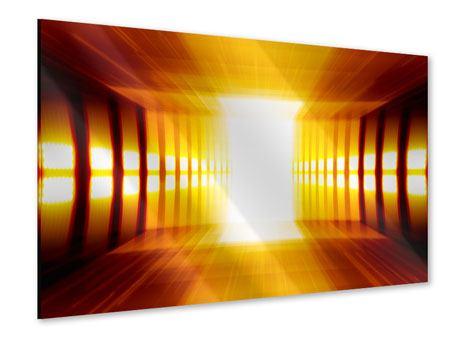 Acrylglasbild Abstrakter Goldener Raum
