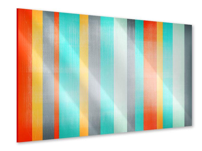 Acrylglasbild Grunge Streifen